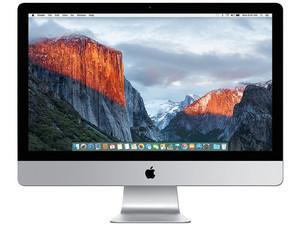"""Apple iMac:  Procesador Intel Core i5 (hasta 2.7 GHz),  Memoria de 8 GB DDR3, Disco Duro de 1 TB,  Video Intel HD Graphics 6000,  Red Wi-Fi 802.11 b/g/n,  Pantalla LED de 21.5"""" Full HD,  S.O. Mac OS X El Capitan."""