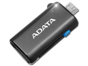 Memoria ADATA MicroSDHC 64GB con lector de Tarjetas MicroSD a Micro USB 2.0 OTG.