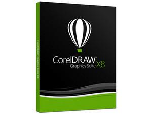 Software de diseño gráfico CorelDRAW Graphics Suite X8 (Versión español).