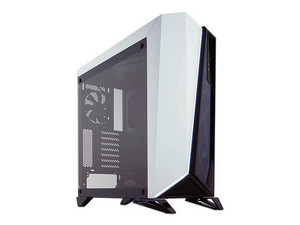 Gabinete Corsair Mid-tower Cabride Series SPEC-OMEGA, ATX, (sin fuente de poder). Color Blanco.