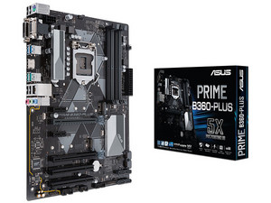 T. Madre ASUS B360 PRIME B360-PLUS, Chipset Intel B360,