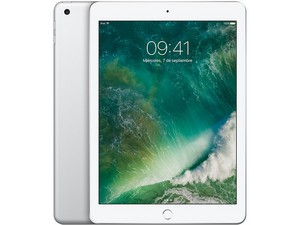 iPad 9.7 Wi-Fi + Cellular de 128 GB, Plata.