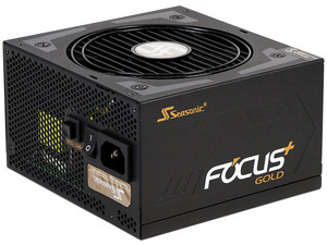 Fuente de Poder Seasonic SSR-1000FX FOCUS de 1000W, ATX, 80 Plus Gold.