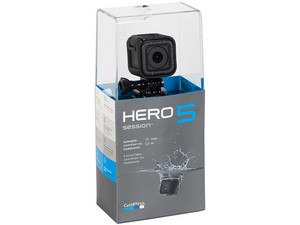 Cámara GoPro Hero 5 Session, Pantalla LCD Monocromática, 12MP, Grabación 4k, Resistencia al agua, WIFI, USB.