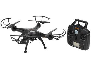 Drone Yosoo X5SW-1 con batería recargable, Cámara de 2 MP, Transmisión vía Wi-Fi, Frecuencia de 2.4 GHz. Color Negro