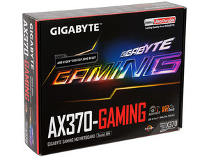 T. Madre Gigabyte GA-AX370-Gaming, Chipset AMD x370, 