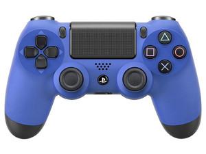 Control Inalámbrico Dualshock 4 (PS4). Color Azul.