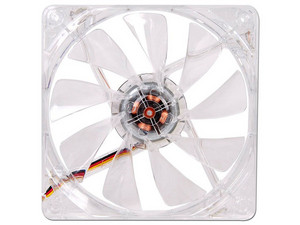 Ventilador Thermaltake Pure 12 Led Blue, 120 mm con led azul, 1000 RPM, 19dBA.