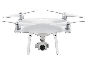 Drone DJI phantom, grabación en 4K, con autonomía de hasta 30 min y vuelo de hasta 6 km.