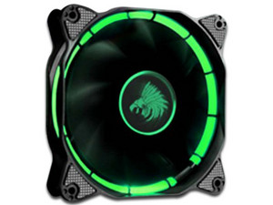 Ventilador Eagle Warrior Halo Fan con Leds Verde, 120 mm.