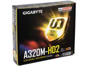 T. Madre Gigabyte GA-A320M-HD2, Chipset AMD A320,