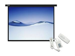 Pantalla para proyector klip xtreme el ctrica con control for Pantalla proyector electrica