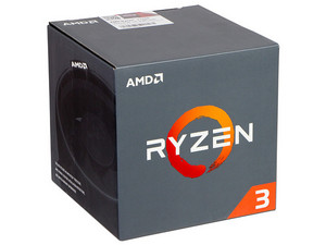 Procesador AMD Ryzen R3 1200, 3.1 GHz (hasta 3.4 GHz), Socket AM4, Quad-Core, 65W.
