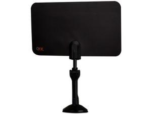 Antena HD Ultra delgada HD QFX ANT-7 para interiores.