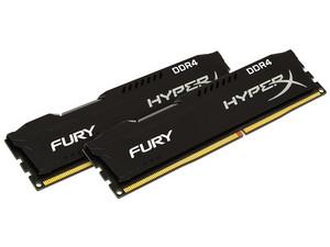 Memoria Kingston HyperX Fury DDR4, 2133MHz, CL14, 16 GB.