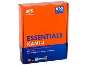 T. Madre ECS KAM1-I, Soporta: AMD Athlon & Sempron Socket AM1, Memoria: DDR3 1600/1333 MHz, 16 GB Max, SATA 3.0, USB 3.0, HDMI, Integrado: Audio HD, Red, Mini-ITX, Ptos: 1xPCIE 2.0x16, 1xPCI-E Mini Card