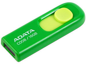 Unidad Flash USB 2.0 ADATA C008 de 16GB.