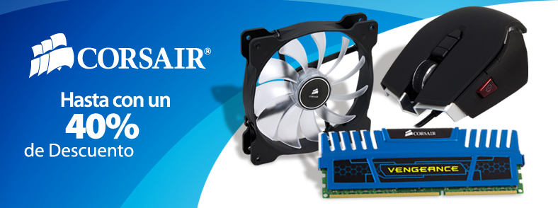 Ofertas Especiales Corsair