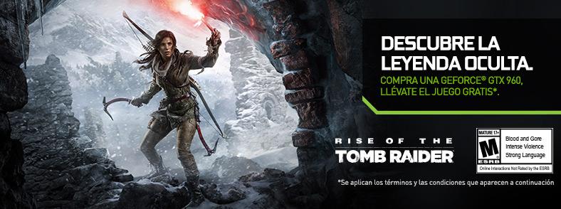 Ofertas Especiales NVIDIA Tomb-Raider