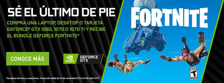 Ofertas Especiales NVIDIA Fortnite