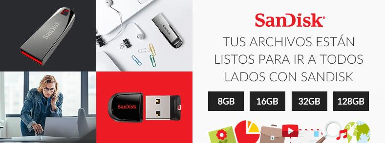 Ofertas Especiales SanDisk