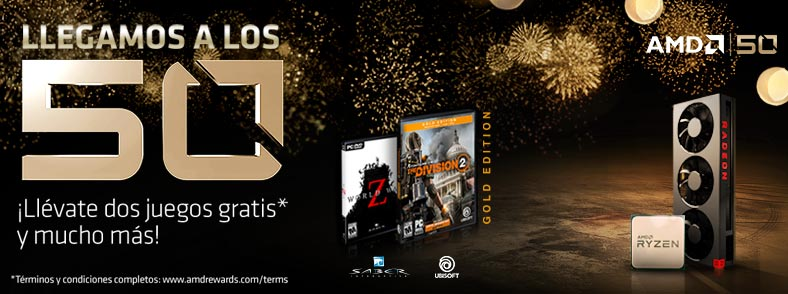 AMD 50 Aniversario