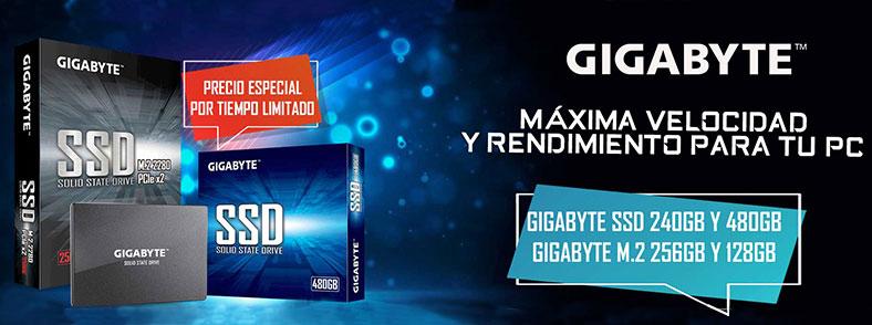 Ofertas Especiales GIGABYTE SSD