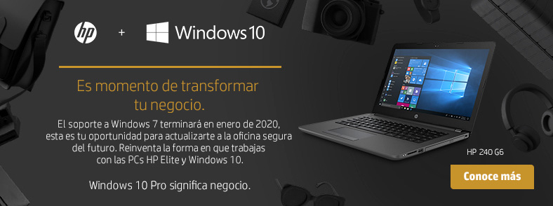 Ofertas Especiales HP + Windows 10