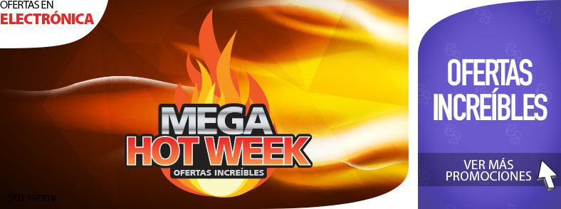 Mega Hot Week en Electronica
