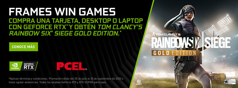 NVIDIA GeForce RTX Rainbow Six Siege Bundle