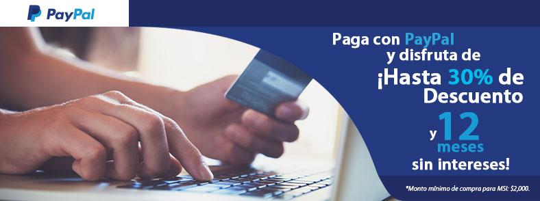 Ofertas Especiales con Paypal
