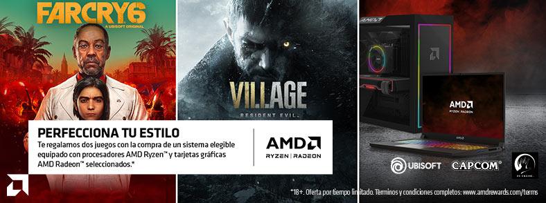 AMD Ryzen Radeon Game Bundle