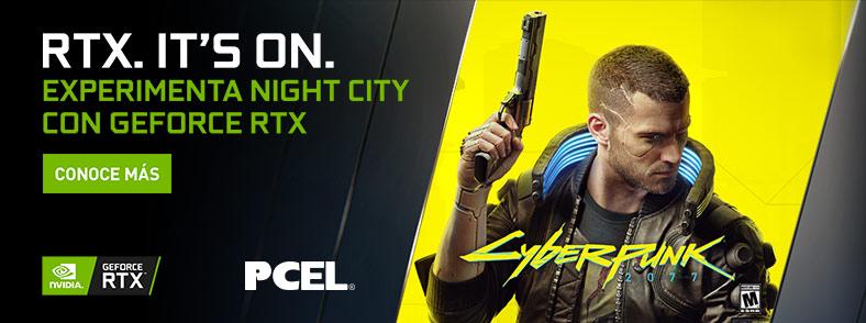 NVIDIA Cyberpunk 2077 con RTX