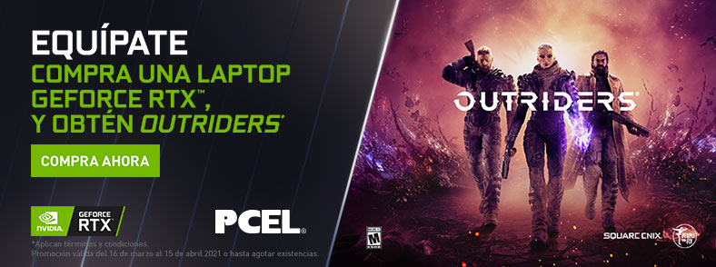 NVIDIA GeForce RTX Outriders Bundle