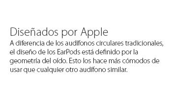 Apple Earpods Con Conector Lightning Control Remoto Y