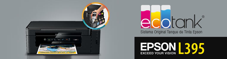 Multifuncional Epson Ecotank L395 Impresora Copiadora Y