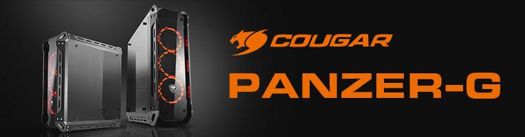 Gabinete Cougar Cougar PANZER, ATX, (sin fuente de poder).