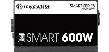Fuente de Poder Thermaltake Smart 600W 80 Plus, Certificada, Active PFC