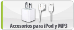 Accesorios para iPod y MP3
