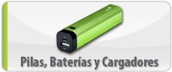 Pilas, Baterías y Cargadores