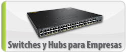 Switches y Hubs para Empresas