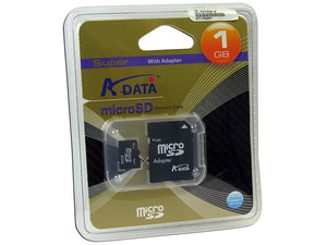 microSD 1G+Adapter