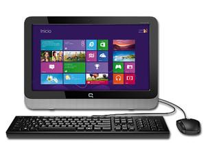Computadora Aio Compaq 18 4204la Procesador Amd E1 6010 1 35 Ghz Memoria 4 Gb Ddr3 D D De 500 Gb Red 802 11b G N Video Radeon R2 Windows 8 1 64 Bits Pantalla Led De 18 5