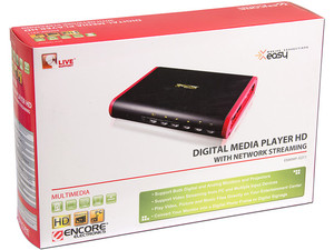 Reproductor Digital HD Multimedia Encore con Streaming de Red