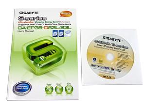 T  Madre Gigabyte GA-EP35-DS3L, ChipSet Intel P35Ex,Soporta: Cel 400,  DualCore/2Duo/Quad, 1066/1333MHz,Memoria: DDR2 1066/800/Mhz, 4 Bancos, 8GB