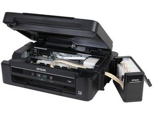 Multifuncional Epson EcoTank L380, Impresora, Copiadora y Escáner, Sistema  de Tanques de Tinta, USB  C11CF43301