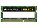 Memoria Corsair SODIMM DDR3L PC3-12800 (1600MHz), 4 GB.