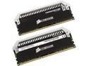 Memoria Corsair Dominator Platinum DDR3 PC3-12800 (1600MHz), 8 GB, Kit con dos piezas de 4 GB.