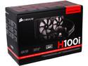 Sistema de enfriamiento líquido Corsair H100i, 240mm.