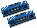 Memoria Corsair Vengeance DDR3 PC3-12800 (1600MHz), 8 GB, Kit con dos piezas de 4 GB.